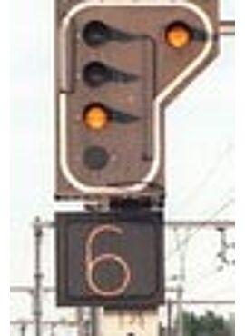 BM80124/26 Lichtblok snelheidsaanduiding 40 en 60