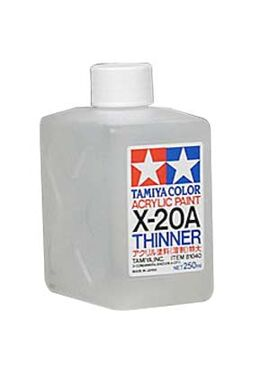 TAMIYA81040 / X-20A Thinner (250cc) Acryl Paint