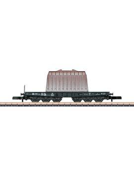 M82342 / Transportwagens voor zware belasting SSym 46 met thermische kappen als lading.