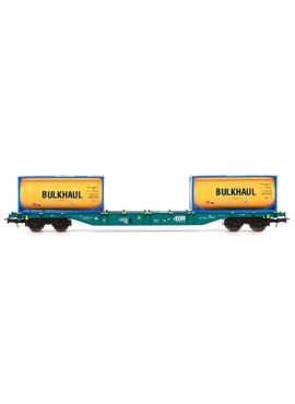 B-Models 54118 / Sgns + 2 tankcontainers BULKHAUL (Gent) , NMBS B-cargo