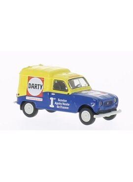 BREKINA 14710 / Renault R4 Fourgonnette, Darty