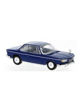 BREKINA 870030 / BMW 2000 CS donkerblauw 1965