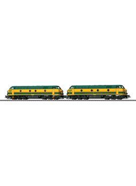 MARKLIN 37602  / Diesellok Serie 55 SNCB/TVM