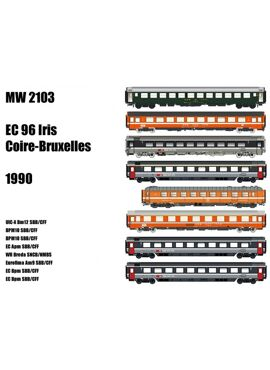 LSM MW2103 / SET CHUR-BRUSSEL EC 96 IRIS (1990)