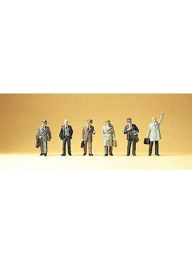 Preiser 79114 /  Mannen in kostuum