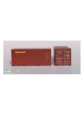 PT trains 820021 / Container 20ft DV TOUAX (TGCU2152573)
