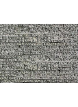 Vollmer 46039 / H0 Wall plate gneiss of cardboard, 25 x 12,5 cm,10 pcs.