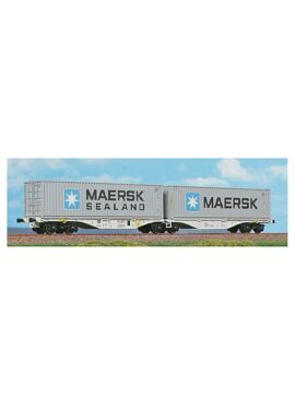 ACME 40362 / Containerdraagwagen met 2 MAERSK-containers
