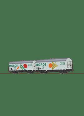 Brawa 47611 / set van 2 koelwagens
