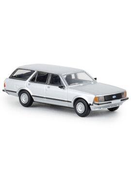 BREKINA 19517 / Ford Granada II Turnier, metallic-silver, 1977, TD