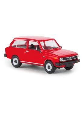 Brekina 27628 / Volvo 66 stationwagen (rood)