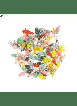 DR60120N / 100 zittende figuren (schaal N)
