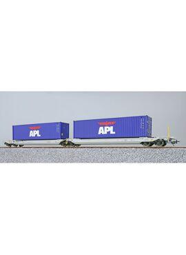 ESU 36544 / Containerwagen Sdggmrs APL