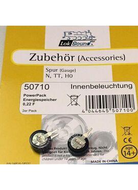 ESU 50710 / Powerpack voor binnenverlichting (2 stuks)