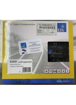 ESU53451 / LOKPROGRAMMER met USB-adapter