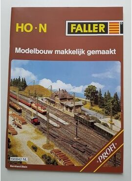 Faller 190842 / nederlandstalig boek