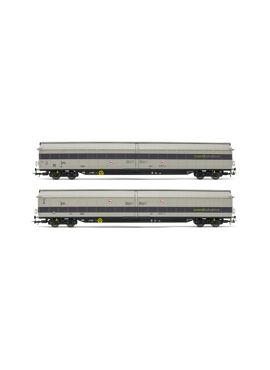 Rivarossi HR6488 / set van 2 schuifwandwagens
