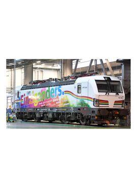 """LSModels 16075 / Vectron MS, Deutsche Bahn (DB Cargo), 4 pantographs, """"I am Einziganders"""""""