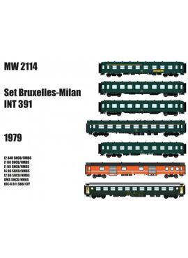 LSM MW2114 / SET BRUSSEL-MILAAN INT 391 (1979)
