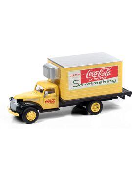 MINI METALS 30596 / 1941-1946 Chevy Box Truck (Coca-Cola), 1:87