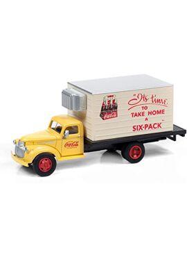 MINI METALS 30597 / 1941-1946 Chevy Box Truck (Coca-Cola), 1:87