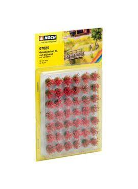 """NOCH07025/Grasbüschel Mini-Set XL """"blühend"""""""