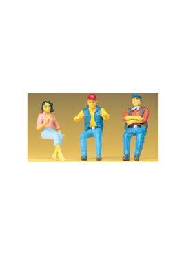 PREISER 57001 / zittende vrachtwagenbestuurders