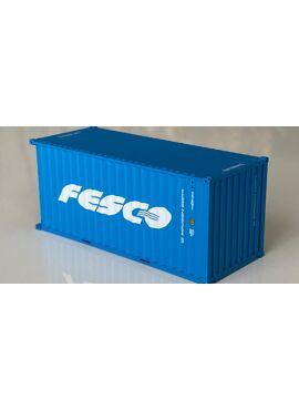 PT trains 820057 / 20' container DV FESCO FESU209354i