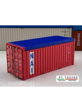 PT trains 820505 / 20ft open top container NAI