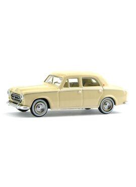 SAI 6201 / Peugeot 403 limousine 1959 ivoor - HO 1/87