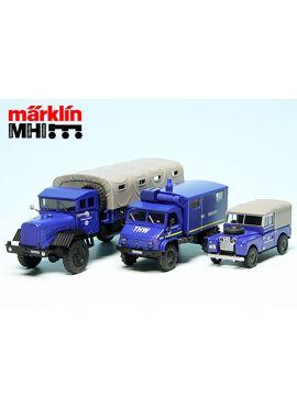 Schuco 452656000 / set met 3 THW-voertuigen MHI