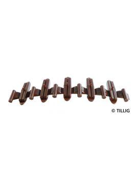 Tillig 85502 / Geïsoleerde raillassen (20 stuks)