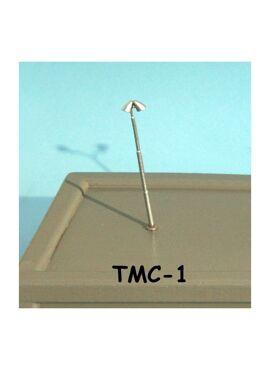 TN001 / NMBS verlichtingspaal met 2 warmwitte led's