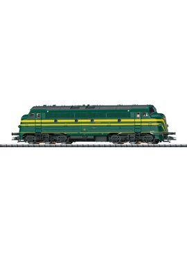 TRIX 22672 / NMBS / SNCB Diesel 204 NOHAB digitaal met sound