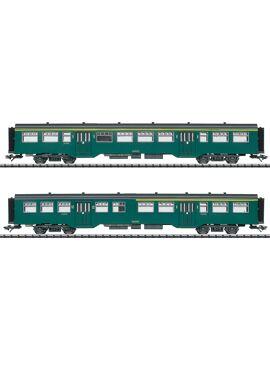 TRIX 23222 / Personenwagen-Set M2 SNCB