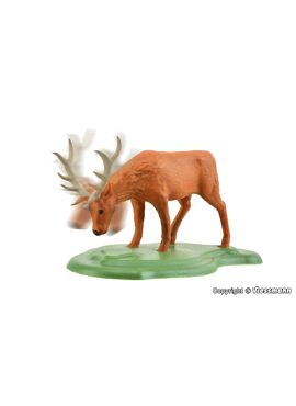 Viessmann 1580 / Hert met bewegend hoofd (functioneel model)