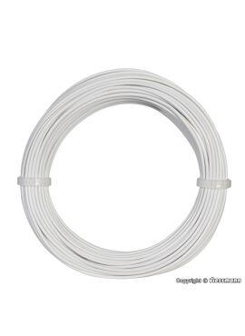 Viessmann 6862 / draad 0,14mm² 10m wit