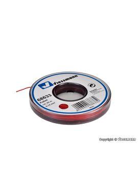 Viessmann 68633 / draad 0,14mm² 25m rood