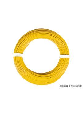 Viessmann 6864 / draad 0,14mm² 10m geel