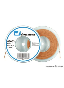 Viessmann 68653 / draad 0,14mm² 25m bruin