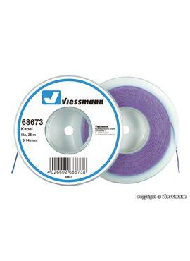Viessmann 68673 / draad 0,14mm² 25m paars