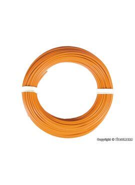 Viessmann 6869 / draad 0,14mm² 10m oranje
