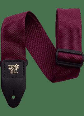 Ernie Ball Strap Polypro Bordeaux