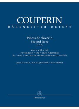Pièces de clavecin. Second livre for Harpsichord