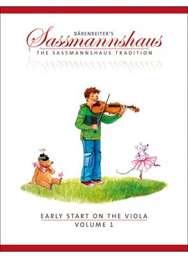 Saßmannshaus Early Start on the Viola, Volume 1