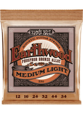 Ernie Ball Earthwood Phosphor Medium light