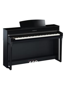 Yamaha Clavinova CLP745PE zwart hoogglans