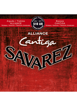 Savarez Alliance-Cantiga Rood normal tension
