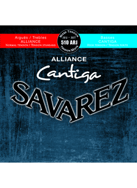 Savarez Alliance-Cantiga Rood/blauw mixed