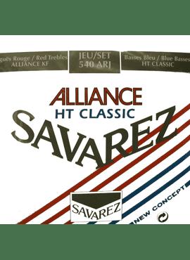 Savarez Allaince-HT Classic Rood/blauw normal tension/hard